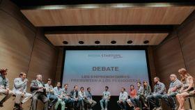Imagen de una de las mesas de debate del Media Startup Alcobendas.
