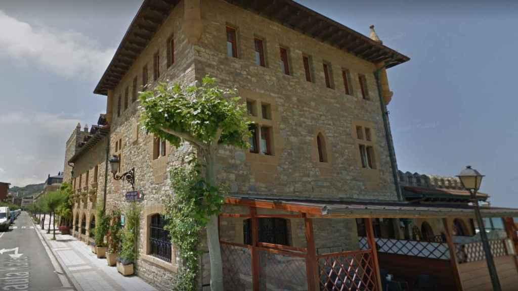 Una imagen del hotel de Karlos Arguiñano.