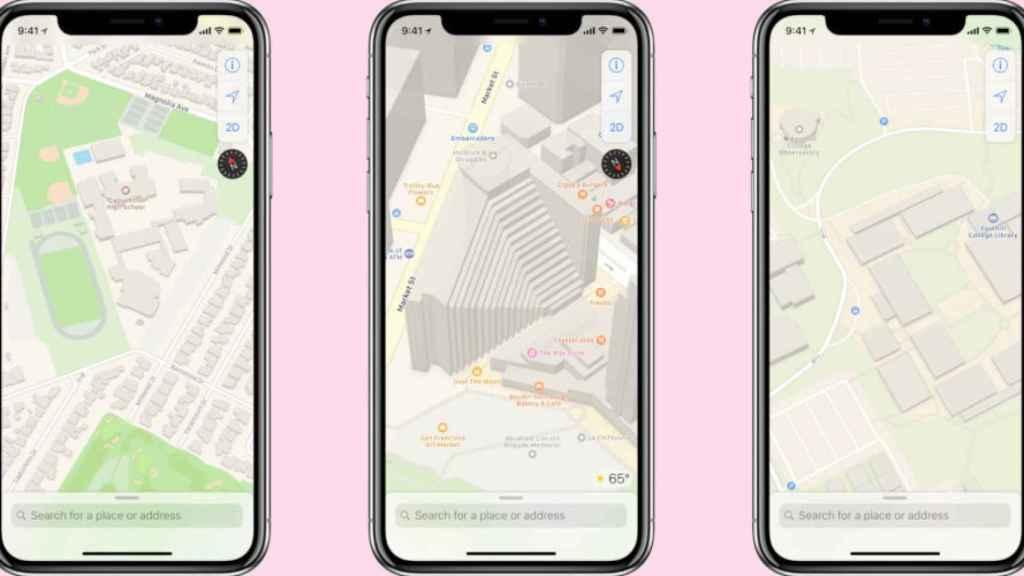 Apple Maps.