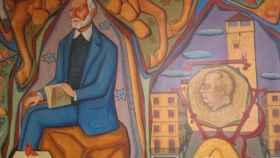 mural franco ayuntamiento