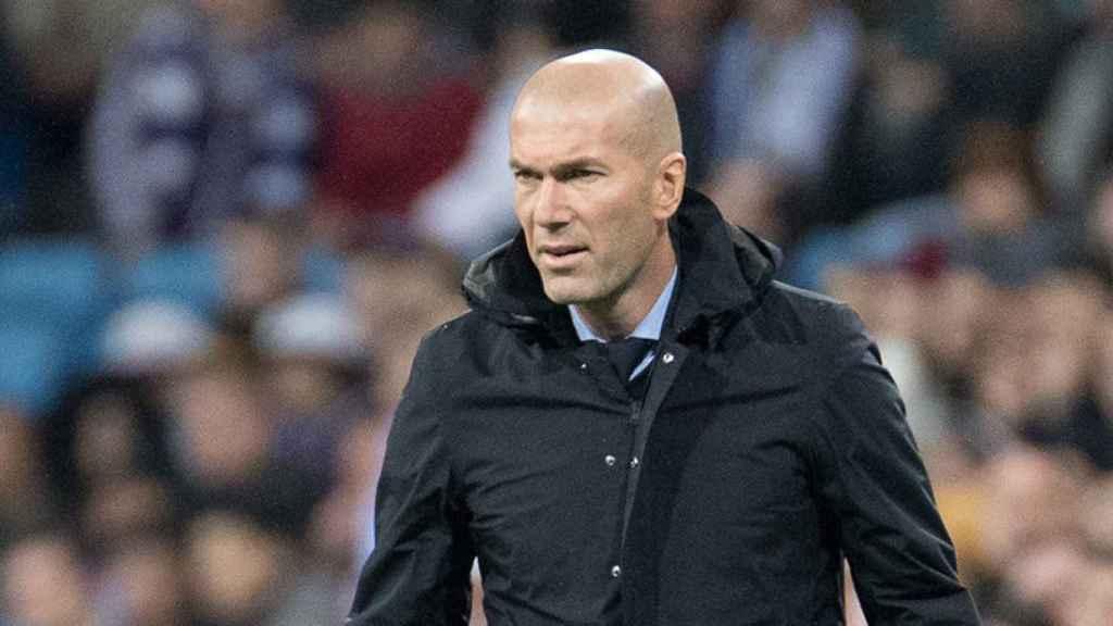 Zinedine Zidane Foto: Pedro Rodríguez/El Bernabéu