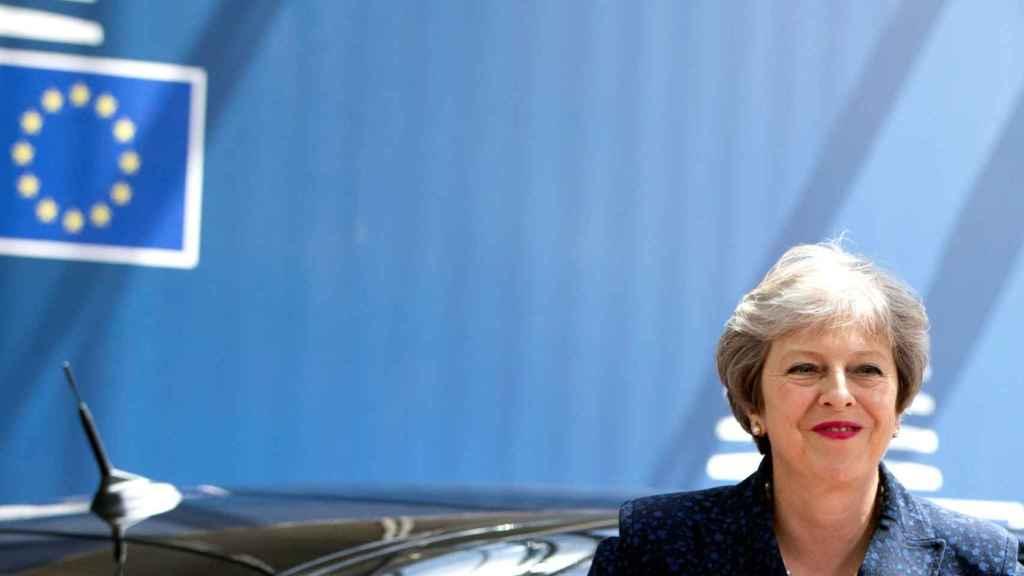 La primera ministra Theresa May no asiste a esta segunda jornada de la cumbre en la UE
