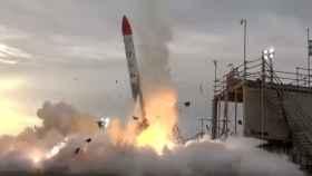 Así estalló durante el despegue un cohete de una empresa privada japonesa
