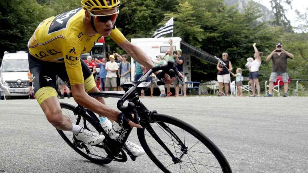 Chris Froome en el último Tour de Francia.