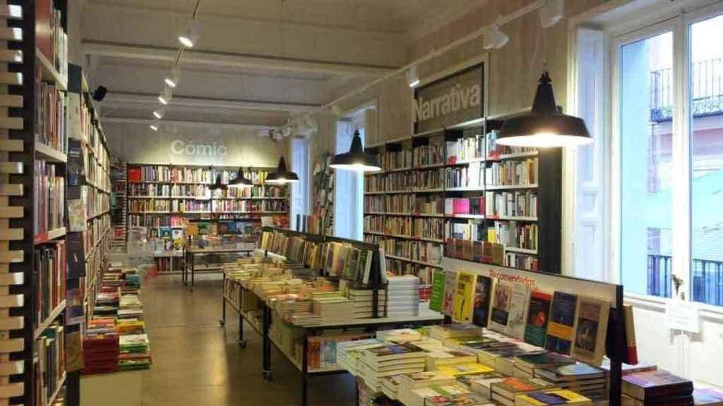 Imagen de la librería La Central.