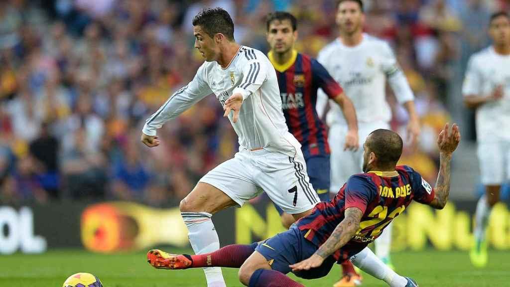 Imagen del Real Madrid-Barcelona.