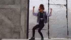 Fotograma del polémico vídeo de 2014 donde unos jóvenes iraníes se grabaron bailando Happy.