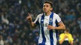 Héctor Herrera en un partido con el Oporto. Foto: fcporto.pt