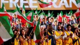 25.000 personas asistieron a la reunión de la oposición iraní en París contra la que pretendían atentar los detenidos