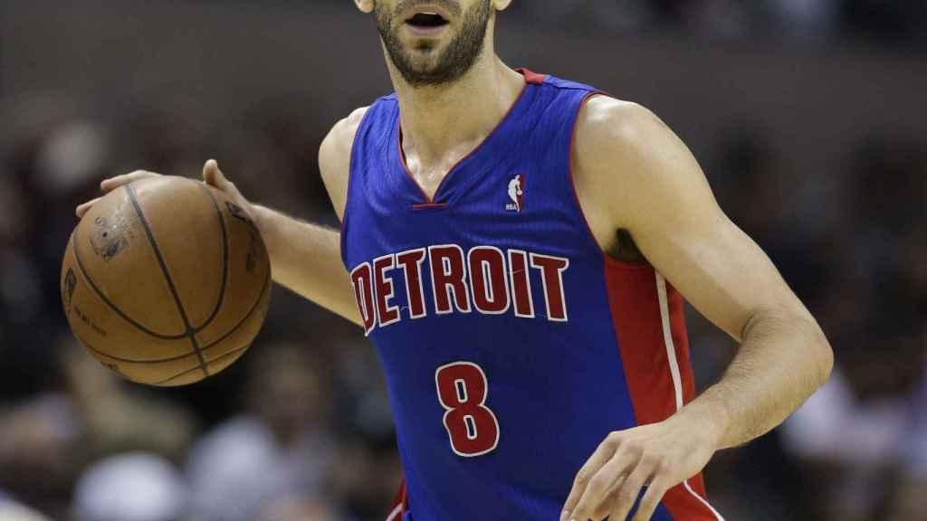 Calderón regresa a unos Pistons donde ya jugó media temporada en 2013.