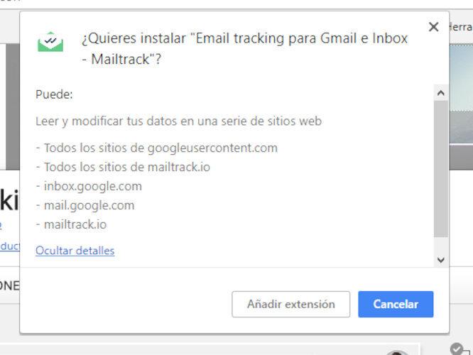 google permisos correo 2