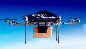 amazon prime air drones de reparto