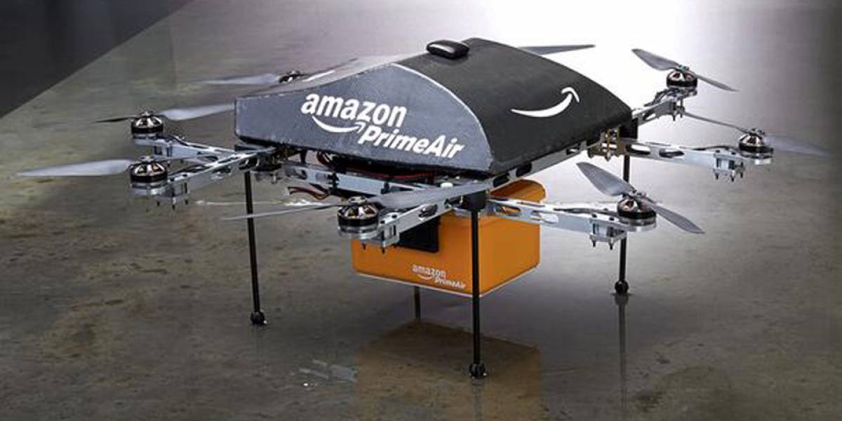 amazon prime air drones de reparto autonomo