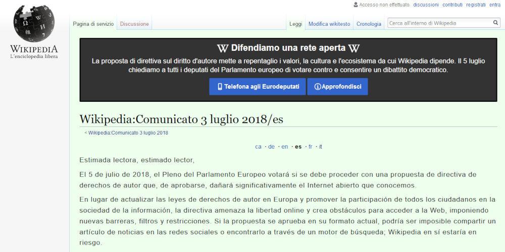 wikipedia italia cierra 1