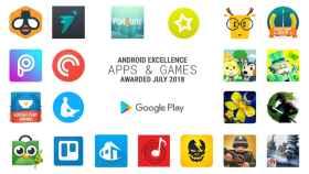 Google elige a las mejores aplicaciones y juegos de julio