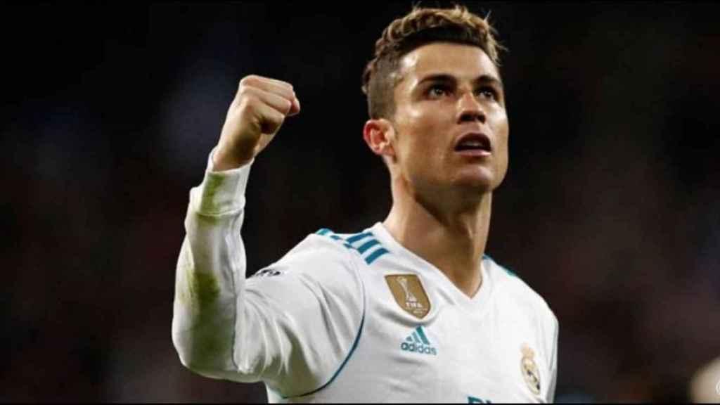 Cristiano Ronaldo, en un partido del Real Madrid