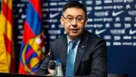 Josep María Bartomeu. Foto: Twitter (@FCBarcelona_es)