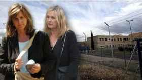Ana y Laura Urdangarin en la cárcel de Brieva en un fotomontaje de Jaleos.
