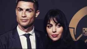 Cristiano y Georgina. Foto. Instagram (@georginagio)