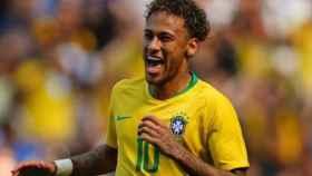 Neymar, con la selección brasileña. Foto: Twitter (@neymarjr)
