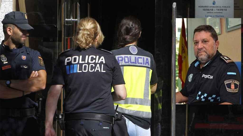 Los 9 policías locales de la 'Operación Enredadera' organizados bajo un mismo sindicato