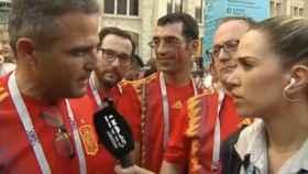La reportera de Telecinco se disculpa por querer dormir con la selección marroquí