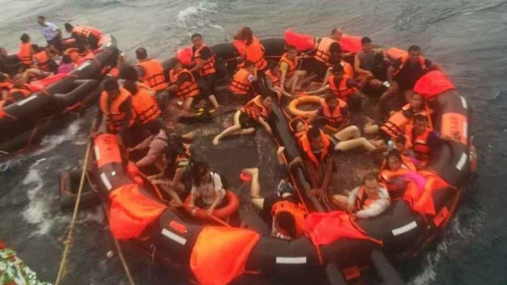 Los naufragios han tenido lugar, debido al monzón, en aguas del sur de Tailandia