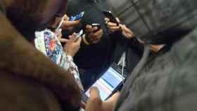 inmigrantes telefonos moviles smartphones