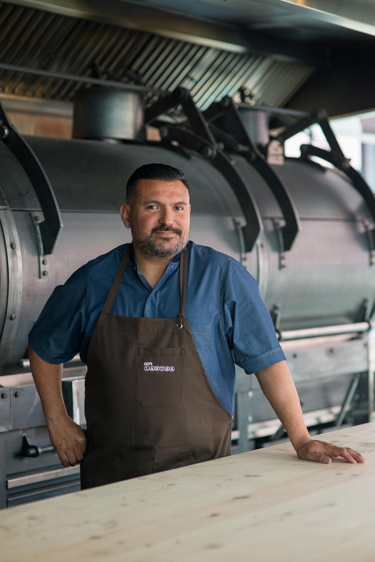 El chef de Limbo Javier Brichetto