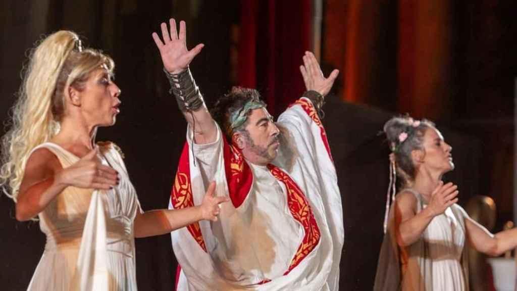 Ben-Hur, versión humorística, diversa y feminista en el Festival de Mérida. Por Yllana y Nancho Novo.