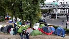 Tiendas de acampar