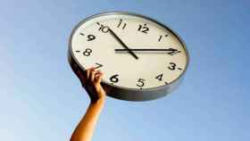 reloj cambio horario