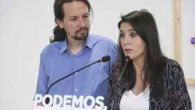 Pablo Iglesias e Irene Montero en imagen de archivo.