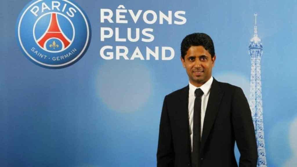 Al-Khelaifi, presidente del PSG. Foto: psg.fr