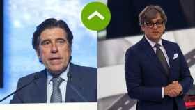 COMO LEONES: Manuel Manrique (Sacyr) y Luca De Meo (Seat)