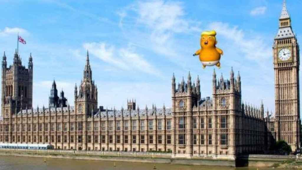 El Baby Trump sobrevolará el Parlamento