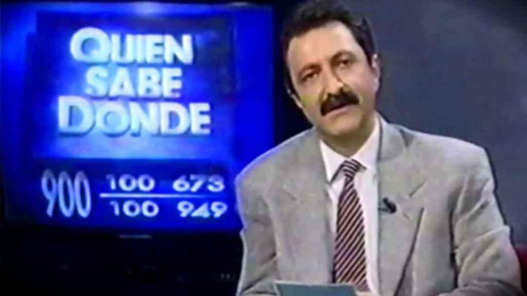 Paco Lobatón, el presentador de 'Quién sabe dónde'.