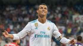 Cristiano Ronaldo, en un partido del Real Madrid. Foto: Pedro Rodríguez/El Bernabéu