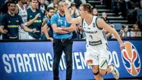 Klemen Prepelic durante el Eurobasket con Eslovenia. Foto: fiba.com