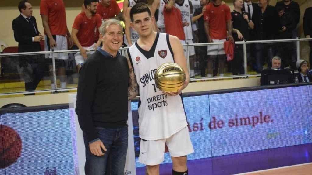 Gabriel Deck recibe el MVP en Argentina