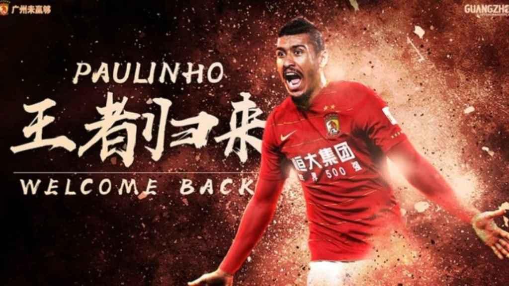 Paulinho abandona el Barça y vuelve al fútbol chino