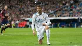 Cristiano Ronaldo, en el Real Madrid - Eibar. Fotógrafo: Pedro Rodríguez / El Bernabéu