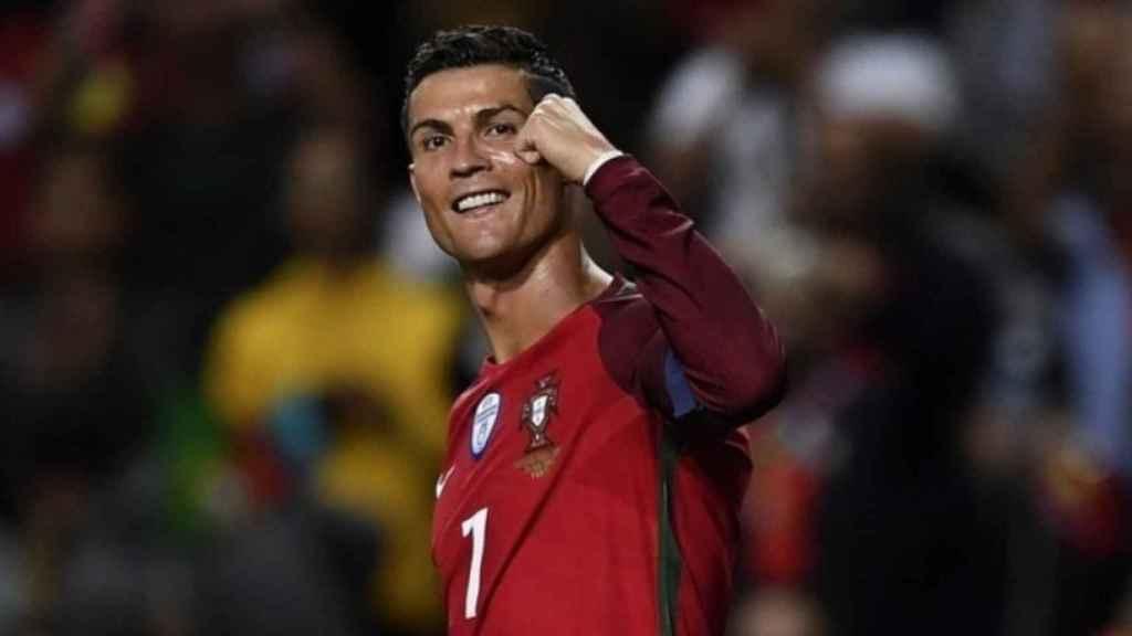 Cristiano Ronaldo con la selección portuguesa. Foto: uefa.com