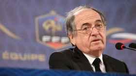 Le Graët, presidente de la Federación Francesa de fútbol. Foto: fff.fr