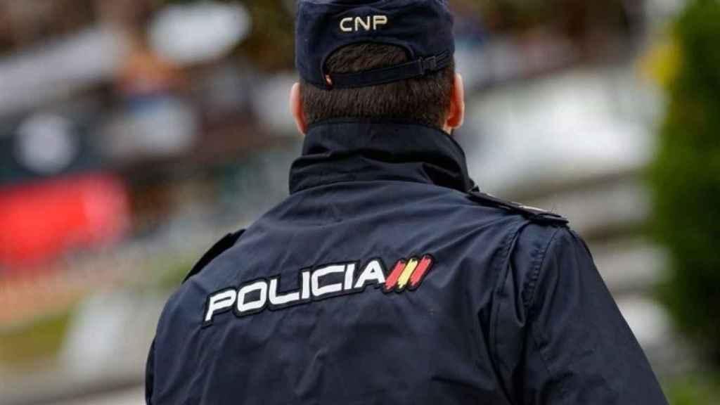 Un policía nacional, en una imagen de archivo.