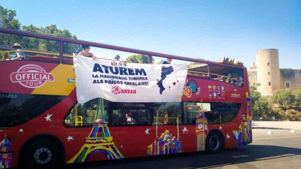 El ataque al bus de Palma se ha dado en Castell de Belver