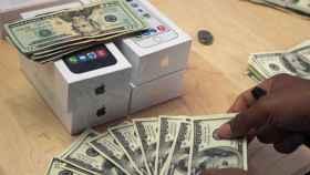 dinero iphone ricos