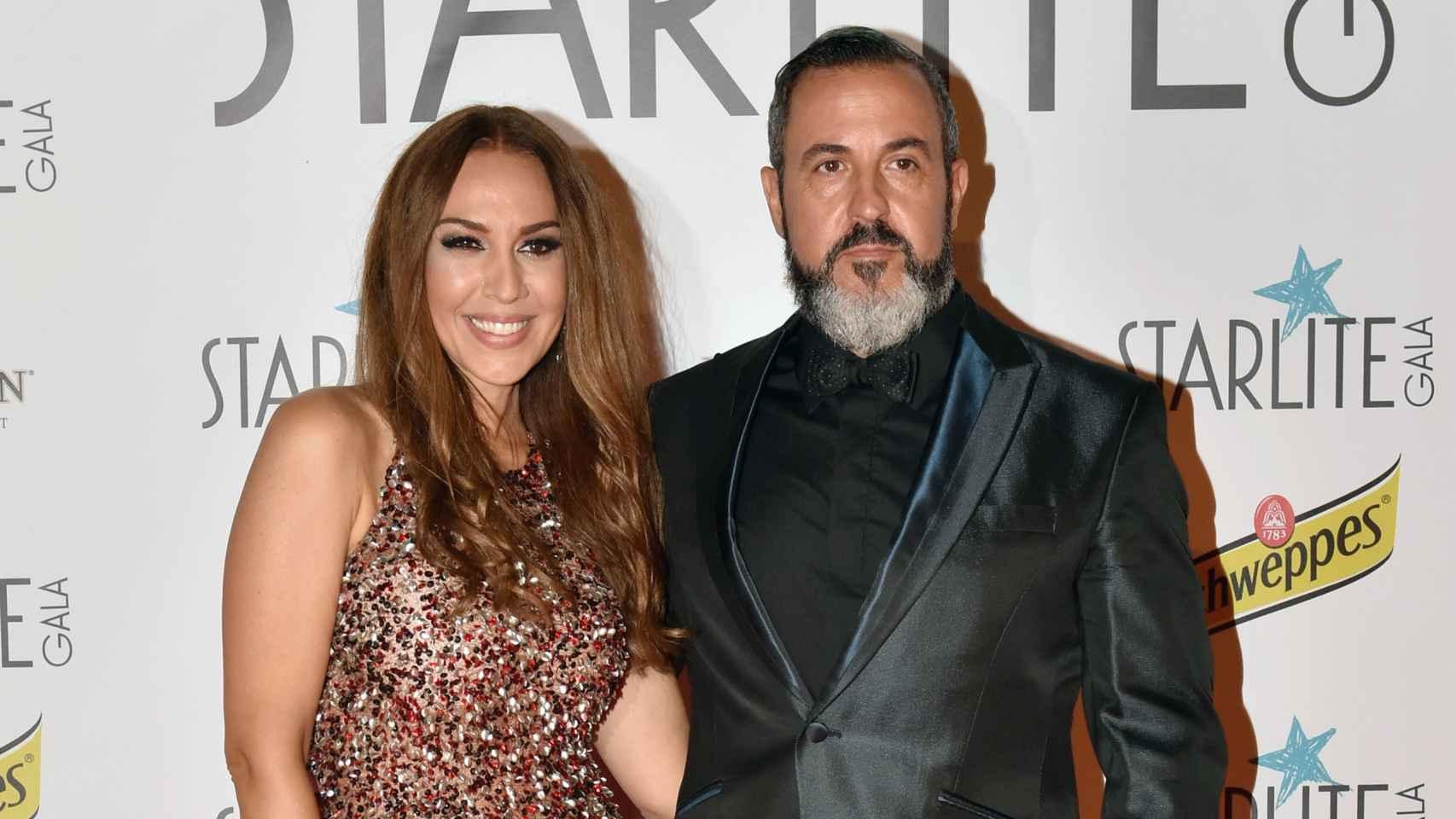 Mónica Naranjo y Óscar Tarruella en Marbella.
