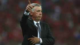 Ancelotti dirige al Bayern. Foto fcbayern.com