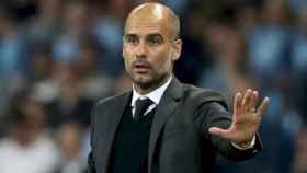 Guardiola, entrenador del Manchester City. Foto: mancity.com